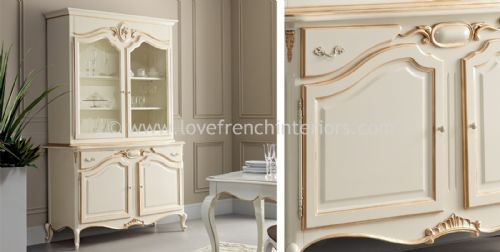 Glamour Display Case and Sideboard
